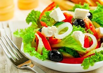 Variedades em Saladas